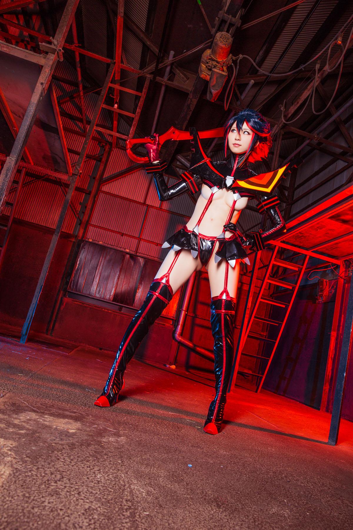 Kill la Kill Ryuuko Matoi anime cosplay by Mikehouse 0055
