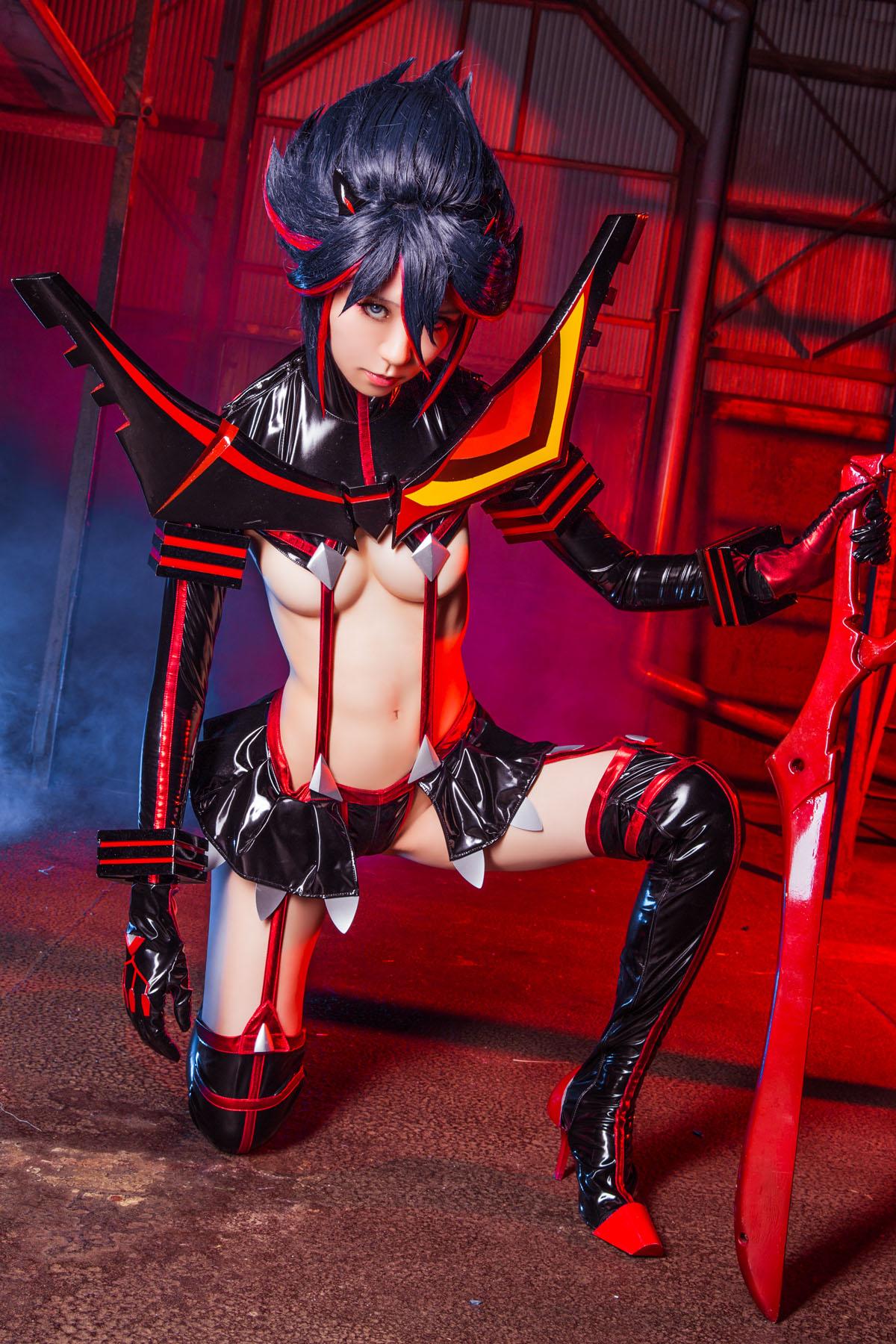 Kill la Kill Ryuuko Matoi anime cosplay by Mikehouse 0059
