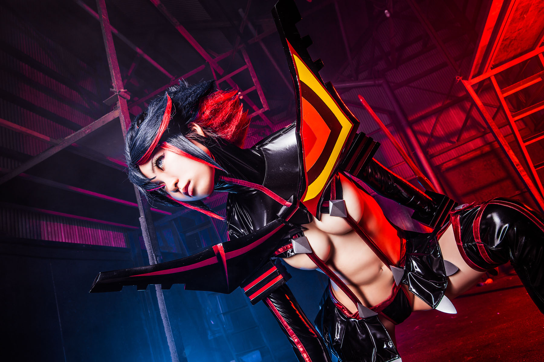 Kill la Kill Ryuuko Matoi anime cosplay by Mikehouse 0061