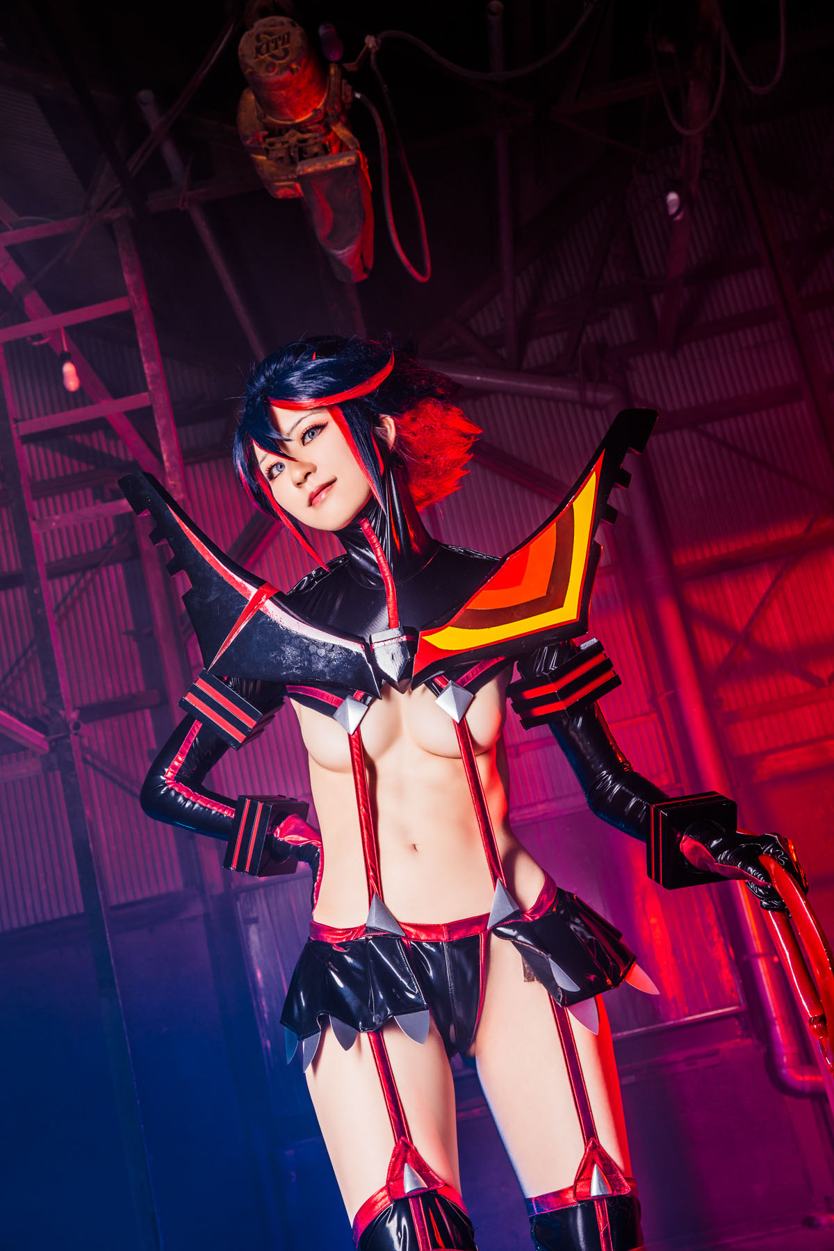 Kill la Kill Ryuuko Matoi anime cosplay by Mikehouse 0067