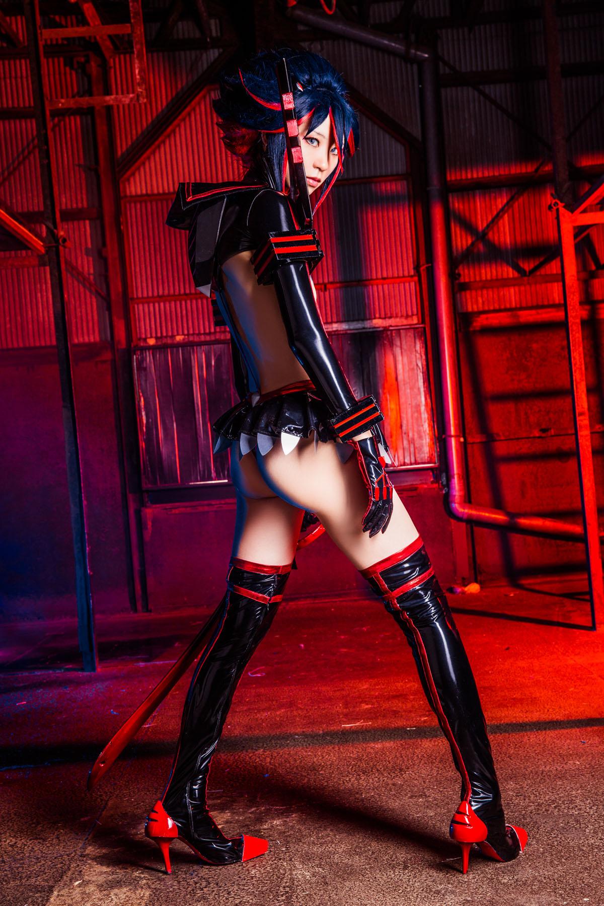 Kill la Kill Ryuuko Matoi anime cosplay by Mikehouse 0069