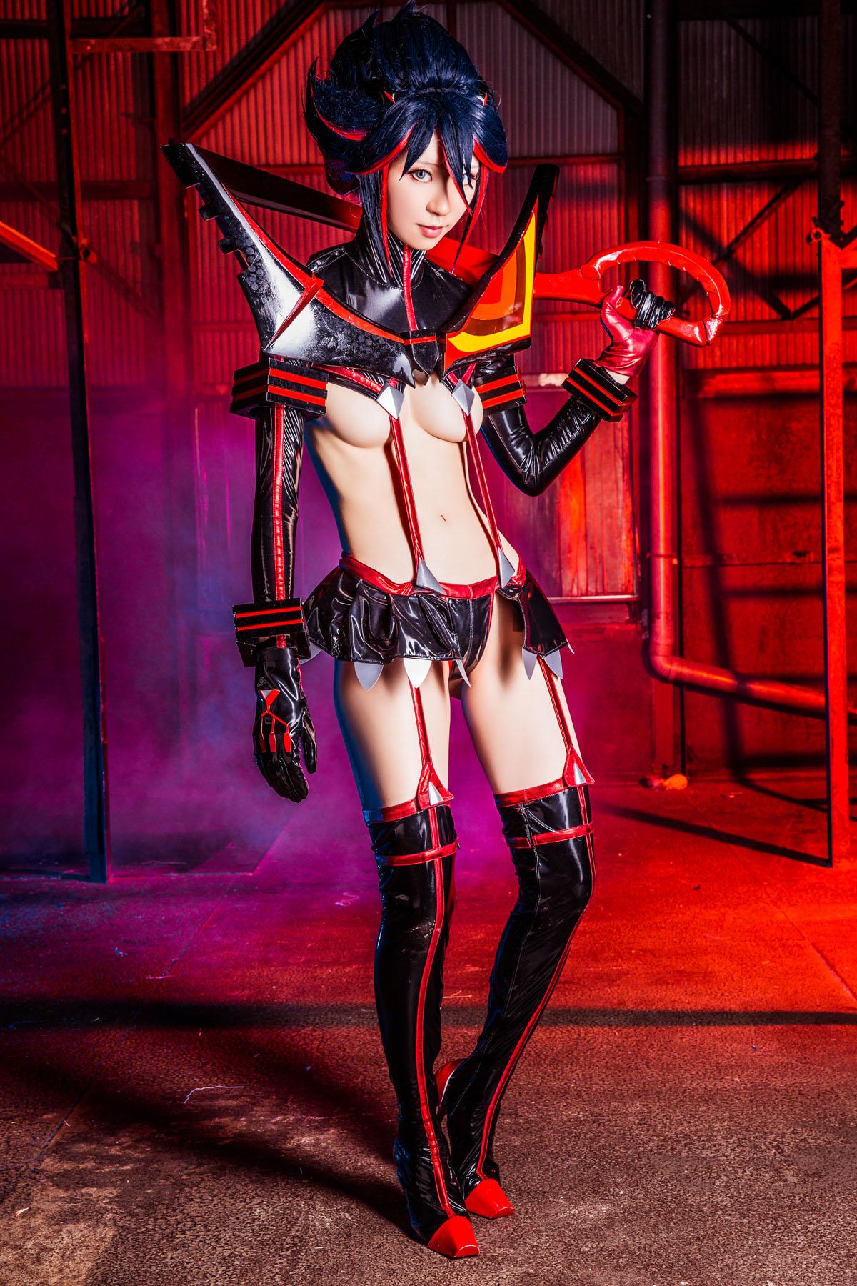 Kill la Kill Ryuuko Matoi anime cosplay by Mikehouse 0070