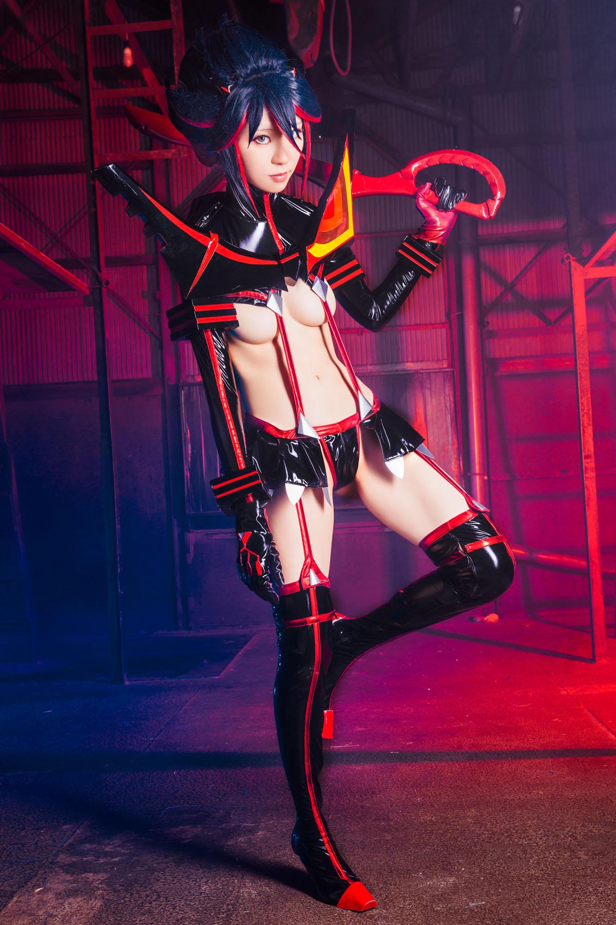 Kill la Kill Ryuuko Matoi anime cosplay by Mikehouse 0071