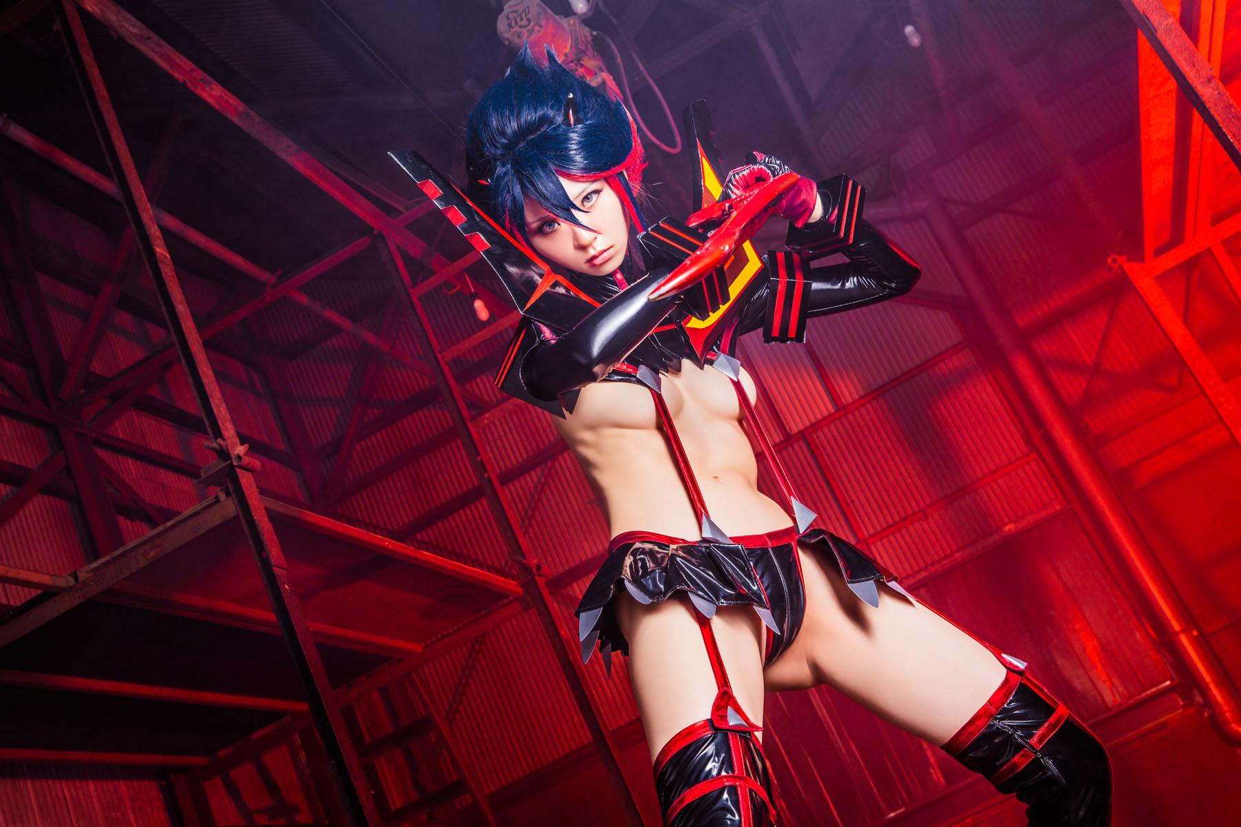 Kill la Kill Ryuuko Matoi anime cosplay by Mikehouse 0076