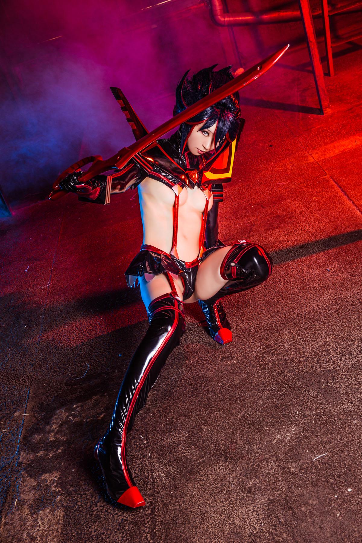 Kill la Kill Ryuuko Matoi anime cosplay by Mikehouse 0079