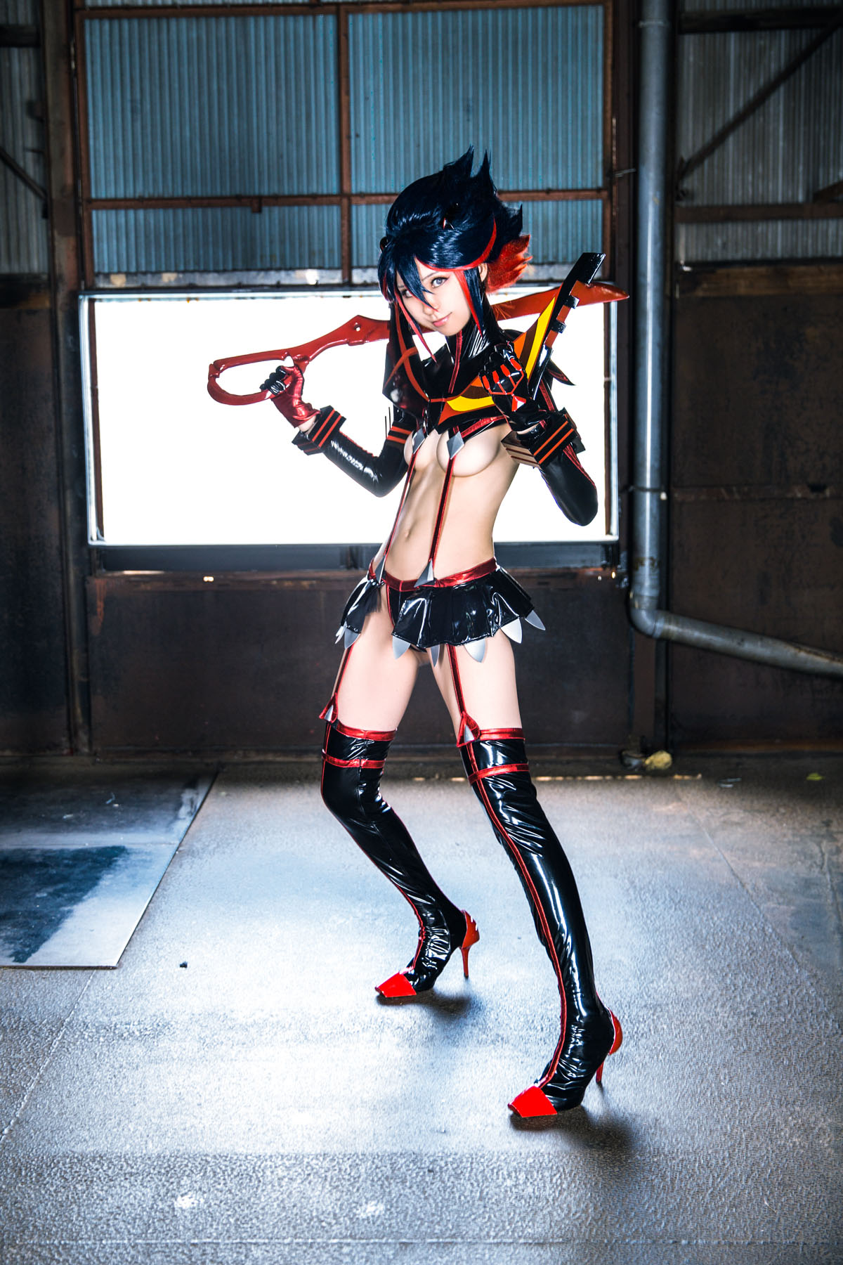 Kill la Kill Ryuuko Matoi anime cosplay by Mikehouse 0082