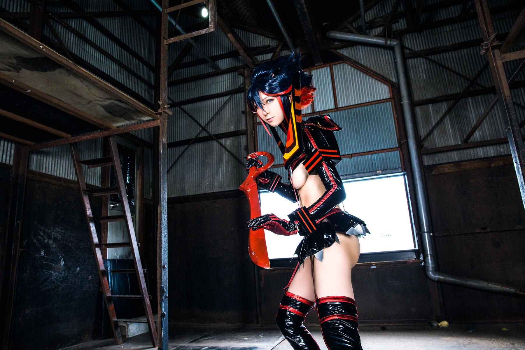 Kill la Kill Ryuuko Matoi anime cosplay by Mikehouse 0083