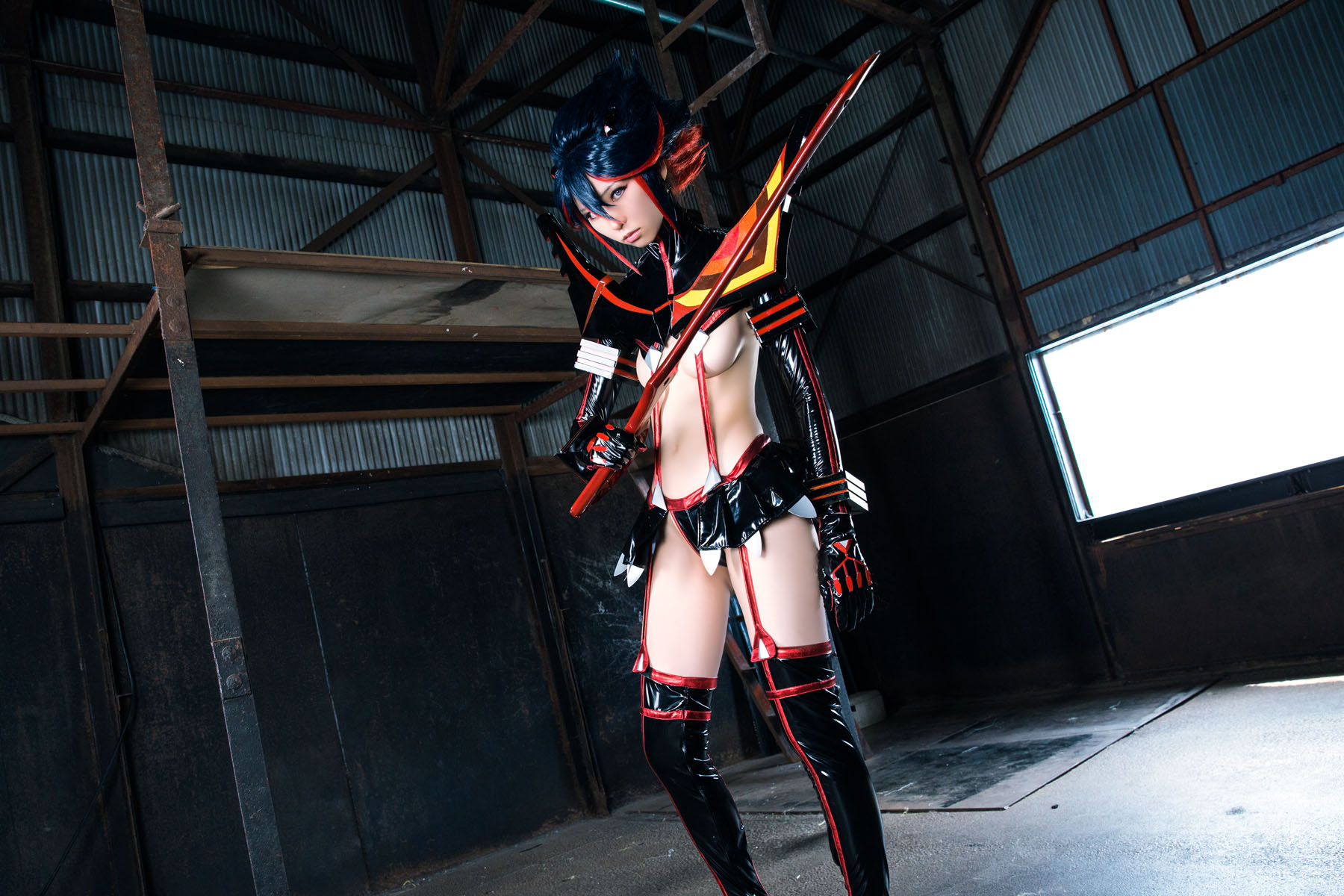 Kill la Kill Ryuuko Matoi anime cosplay by Mikehouse 0087