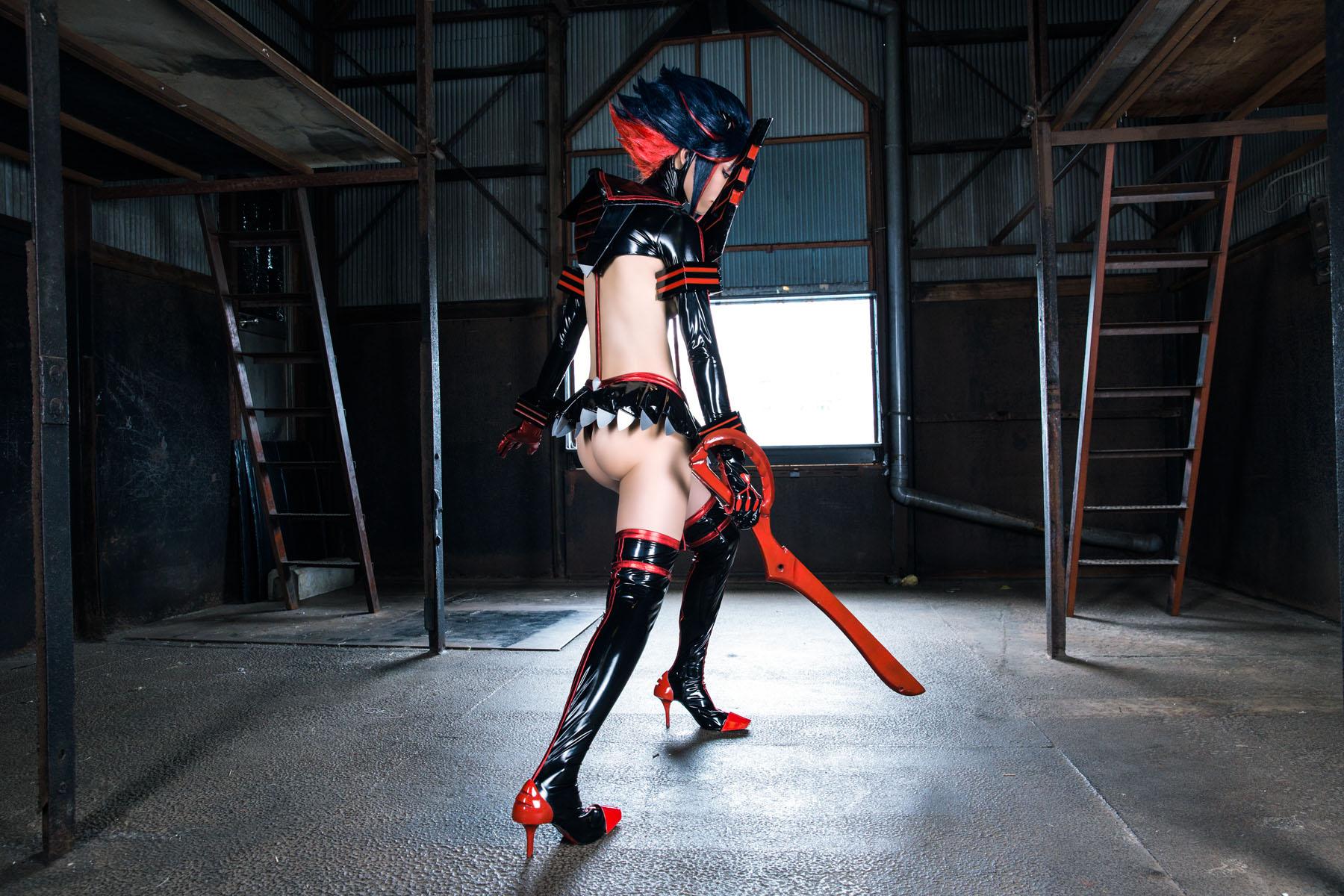 Kill la Kill Ryuuko Matoi anime cosplay by Mikehouse 0088