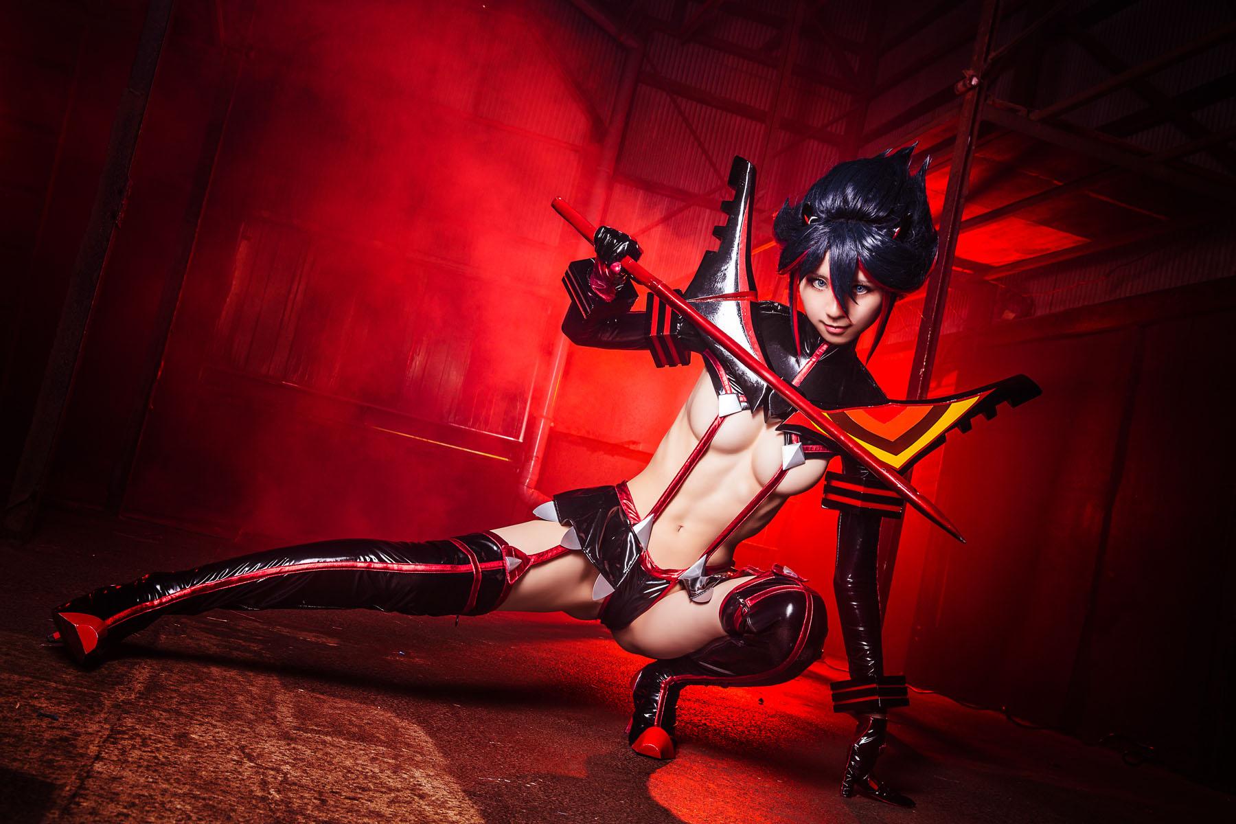 Kill la Kill Ryuuko Matoi anime cosplay by Mikehouse 0092
