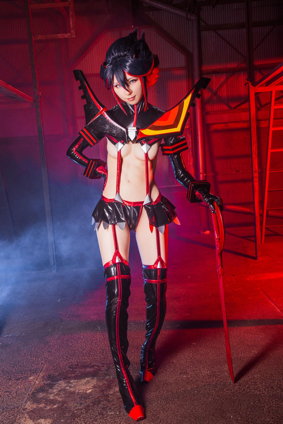Kill la Kill Ryuuko Matoi anime cosplay by Mikehouse 0095