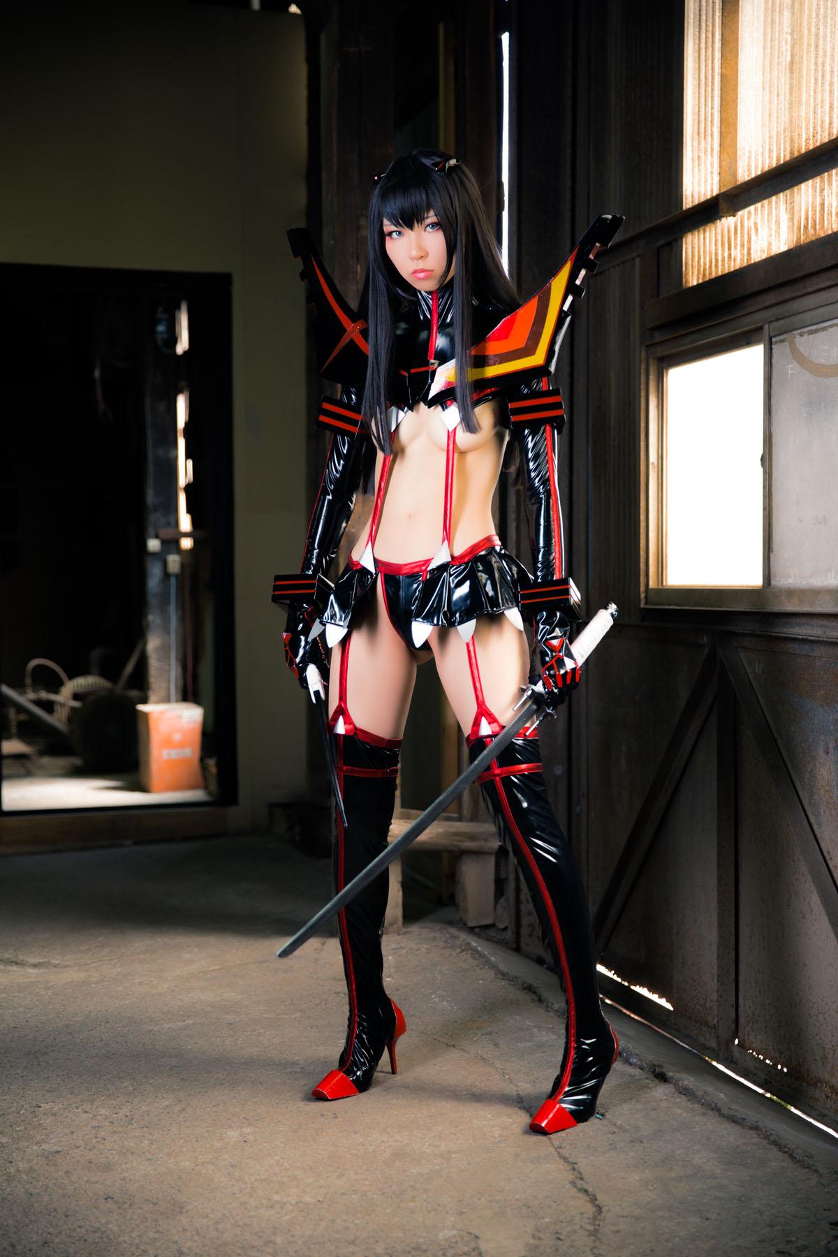 Kill la Kill Satsuki Kiryuuin anime cosplay by Mikehouse 0001