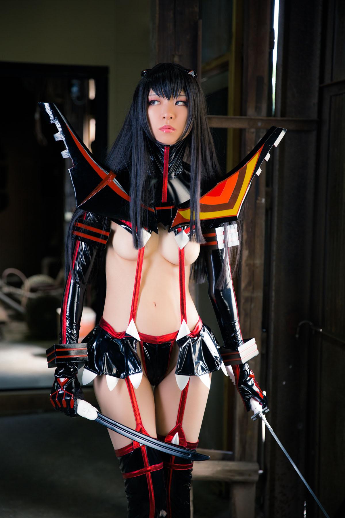 Kill la Kill Satsuki Kiryuuin anime cosplay by Mikehouse 0005
