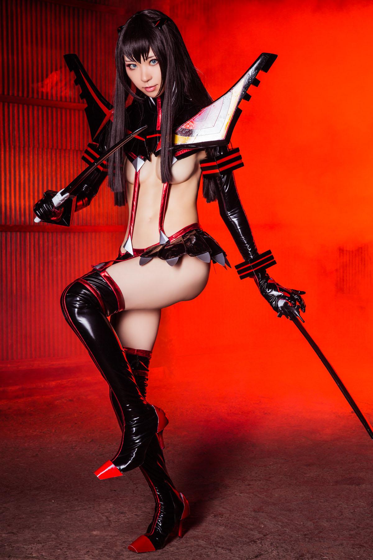 Kill la Kill Satsuki Kiryuuin anime cosplay by Mikehouse 0015