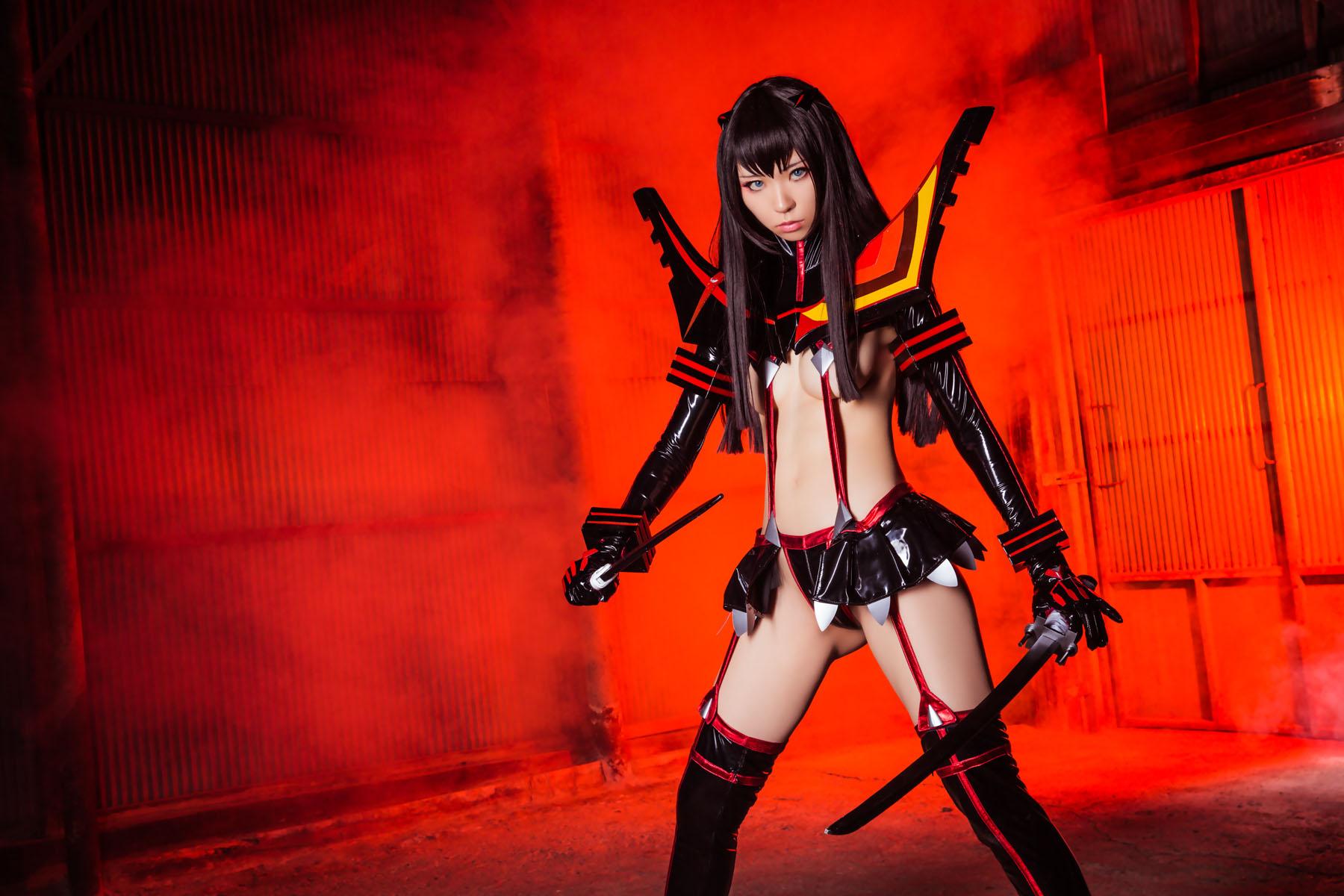 Kill la Kill Satsuki Kiryuuin anime cosplay by Mikehouse 0018