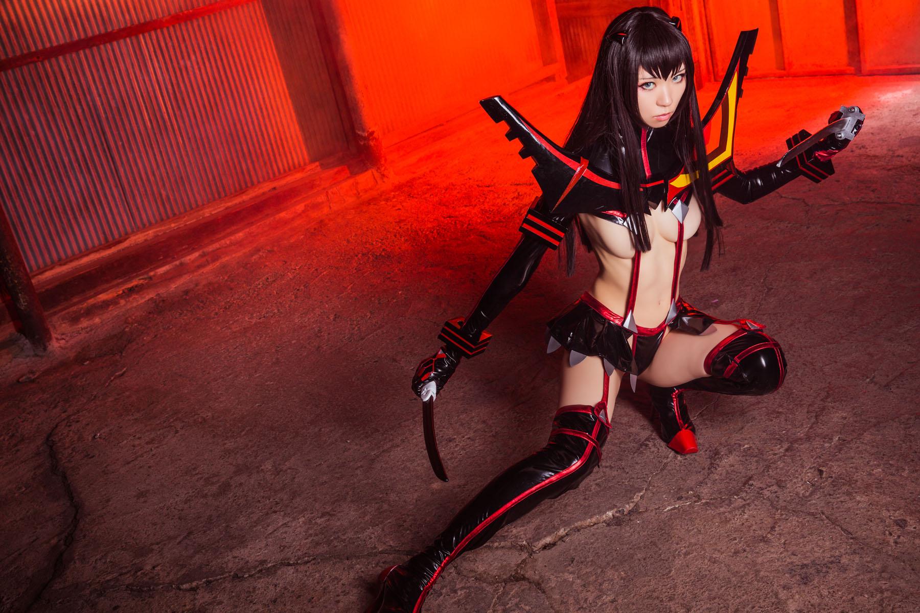 Kill la Kill Satsuki Kiryuuin anime cosplay by Mikehouse 0019
