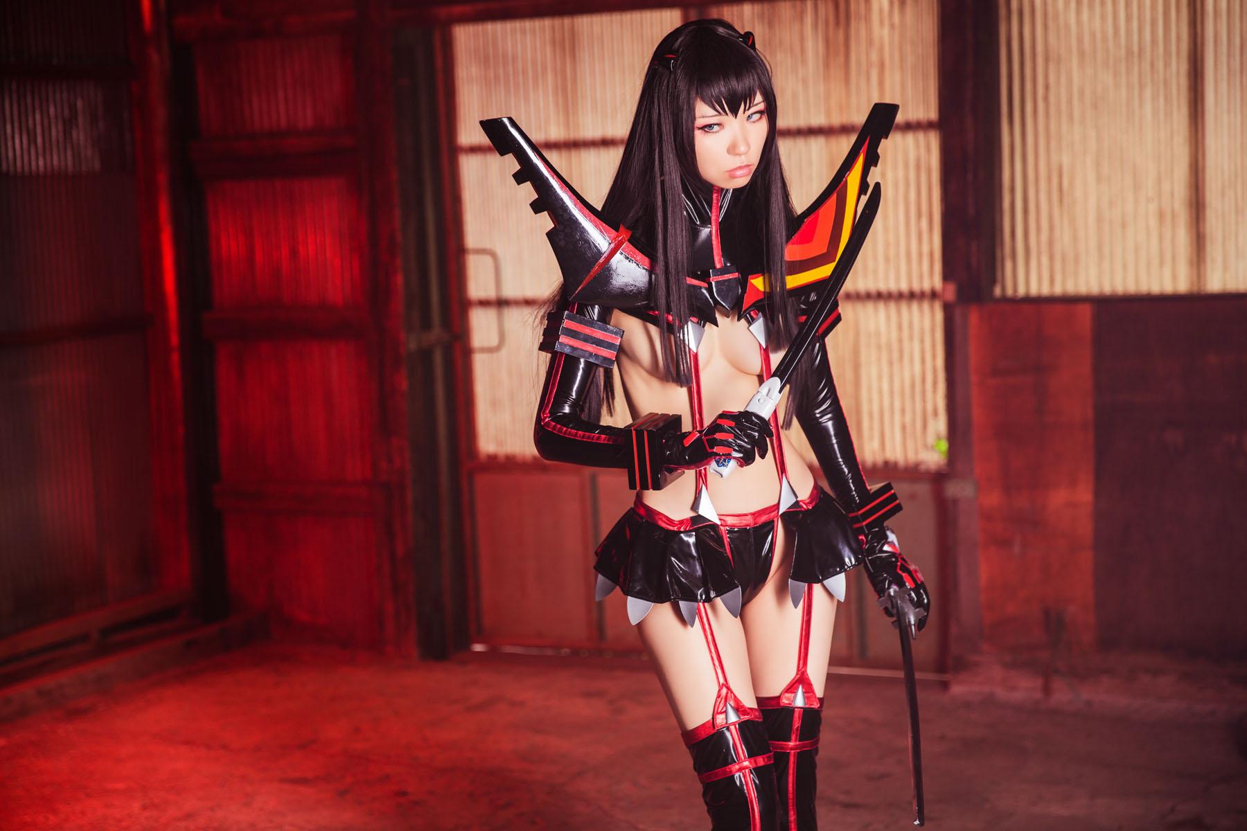Kill la Kill Satsuki Kiryuuin anime cosplay by Mikehouse 0022