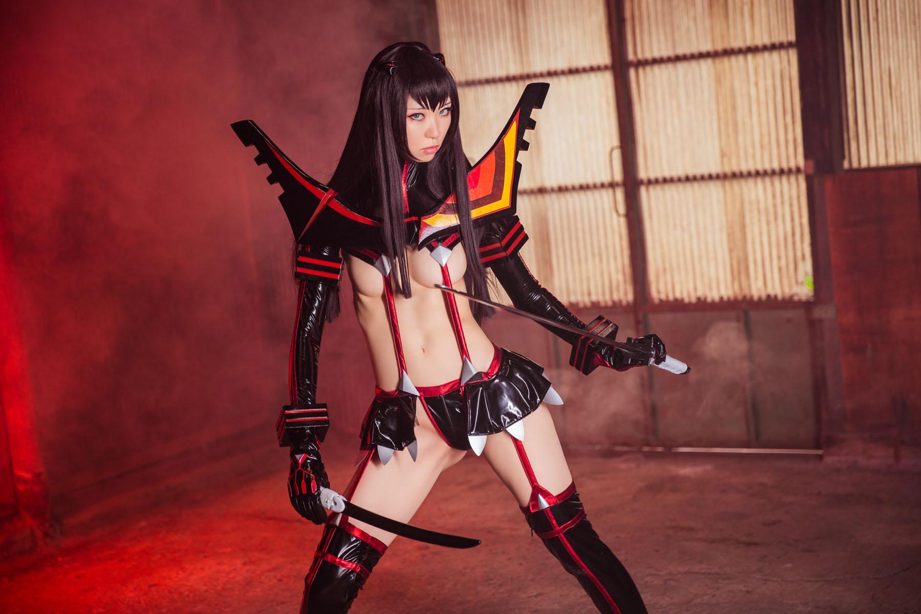 Kill la Kill Satsuki Kiryuuin anime cosplay by Mikehouse 0024