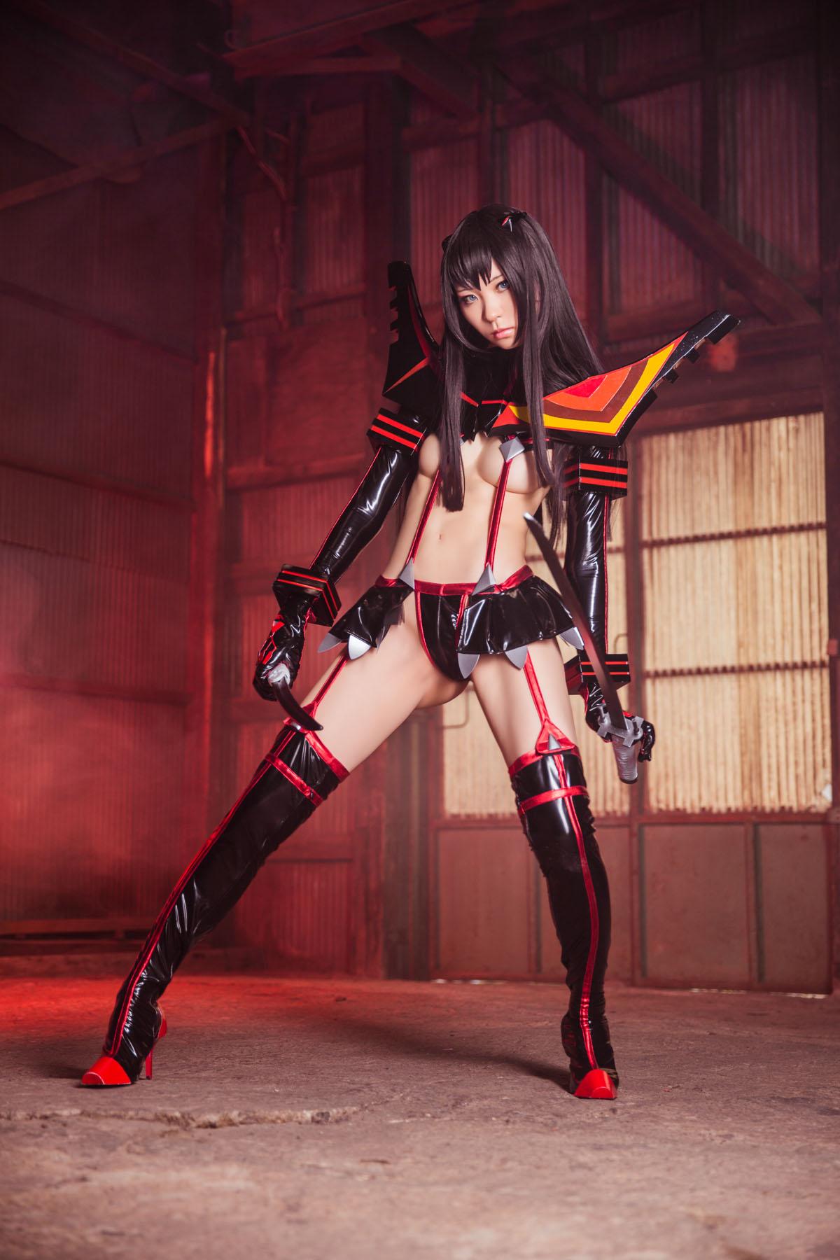 Kill la Kill Satsuki Kiryuuin anime cosplay by Mikehouse 0025
