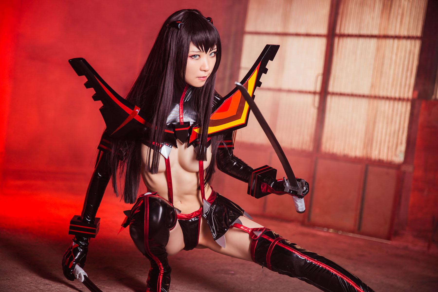 Kill la Kill Satsuki Kiryuuin anime cosplay by Mikehouse 0027
