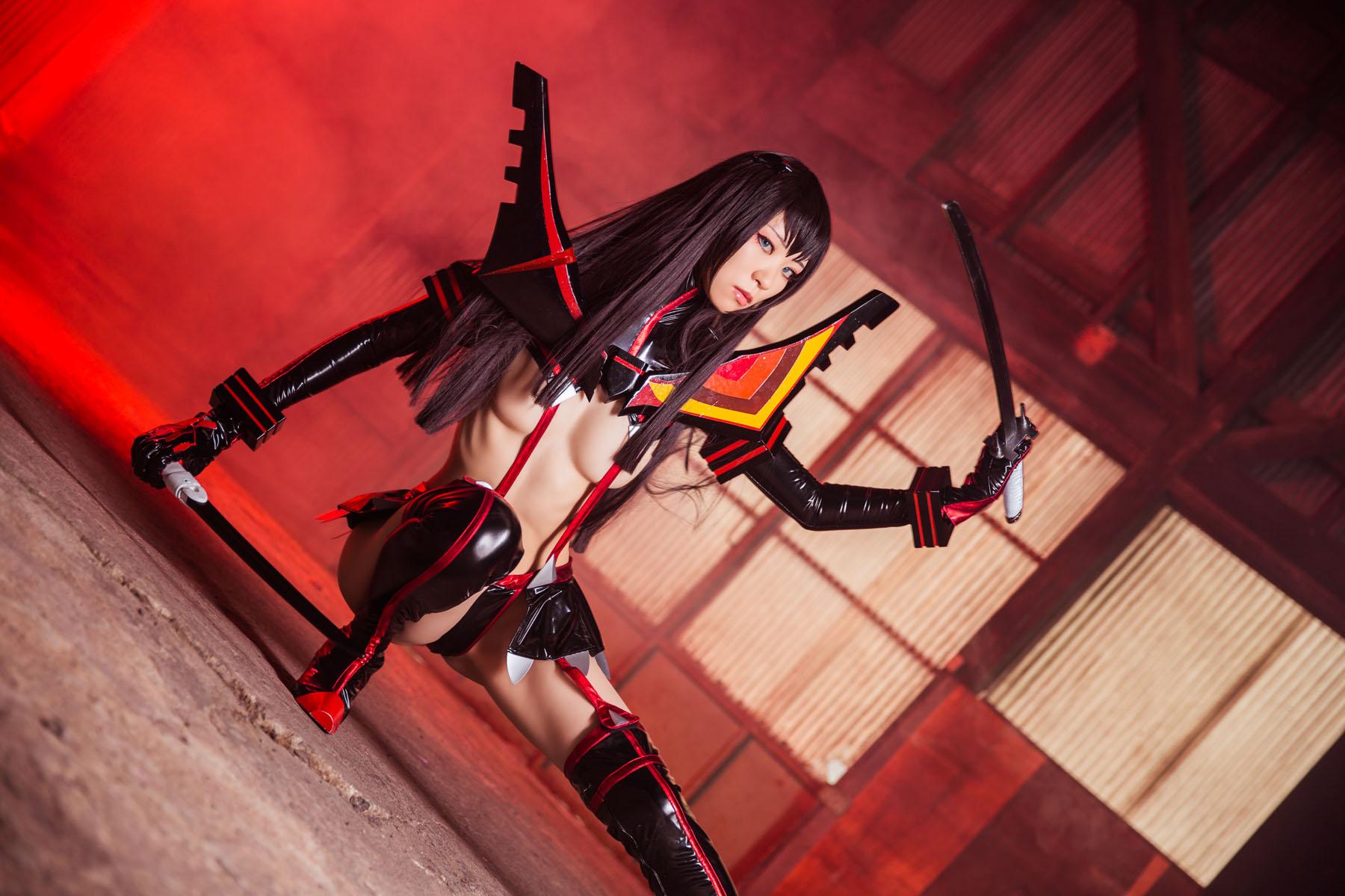 Kill la Kill Satsuki Kiryuuin anime cosplay by Mikehouse 0028