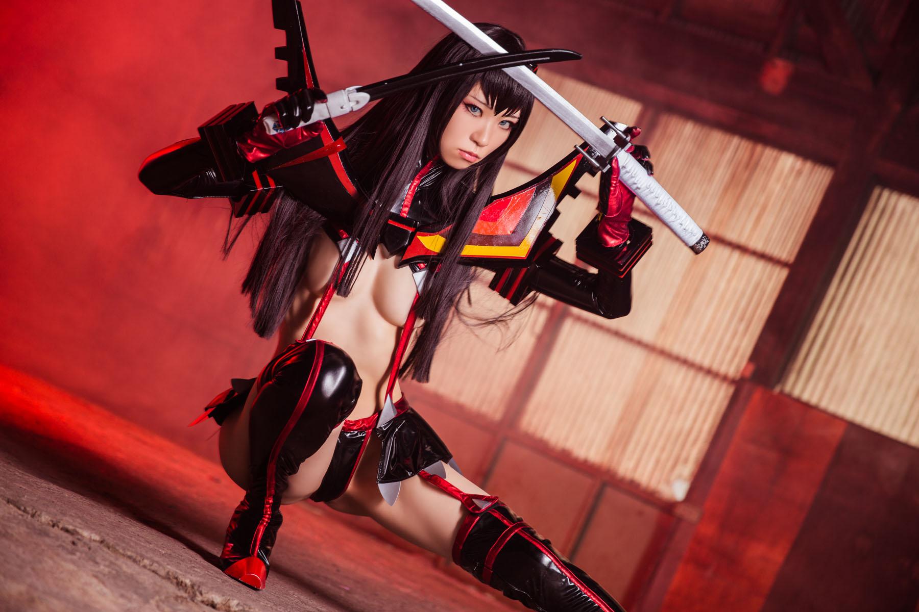 Kill la Kill Satsuki Kiryuuin anime cosplay by Mikehouse 0029