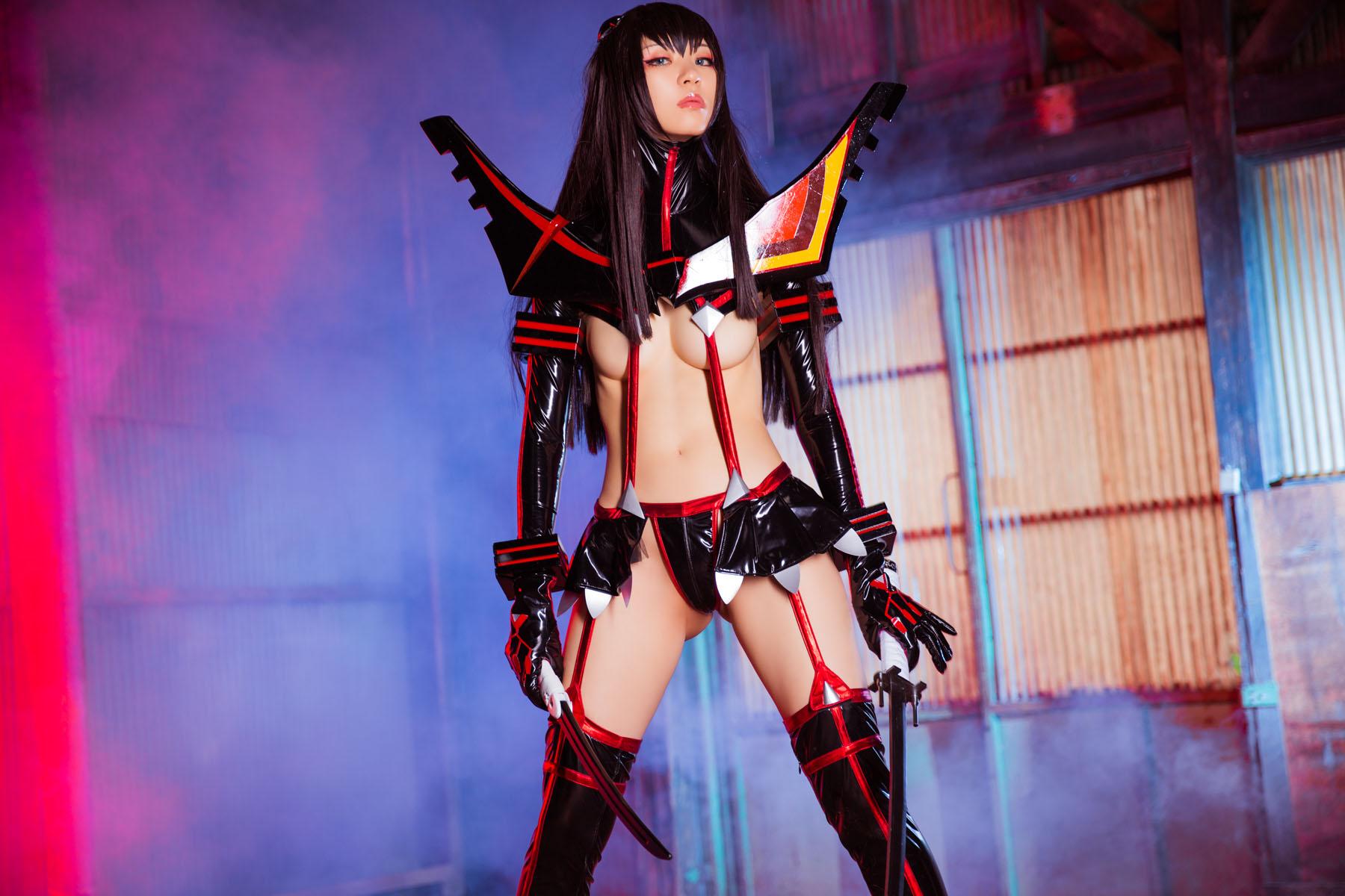 Kill la Kill Satsuki Kiryuuin anime cosplay by Mikehouse 0031
