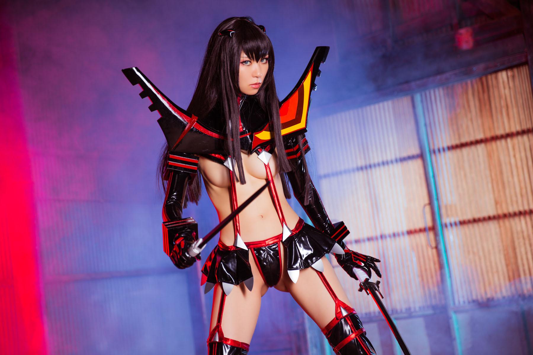 Kill la Kill Satsuki Kiryuuin anime cosplay by Mikehouse 0032