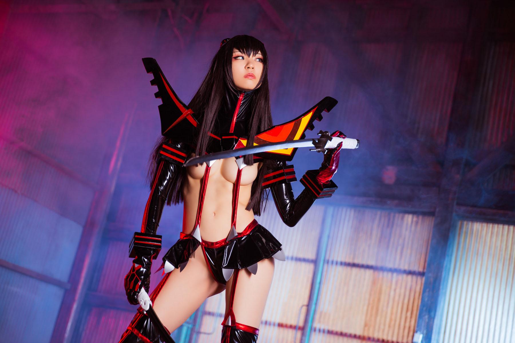 Kill la Kill Satsuki Kiryuuin anime cosplay by Mikehouse 0033