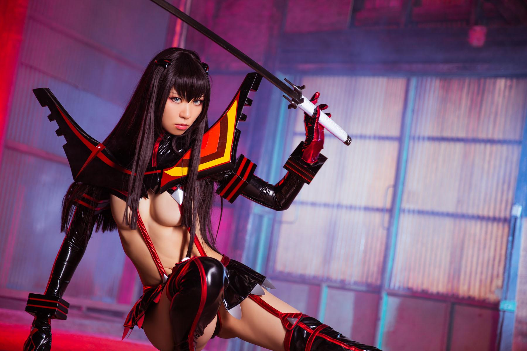 Kill la Kill Satsuki Kiryuuin anime cosplay by Mikehouse 0034