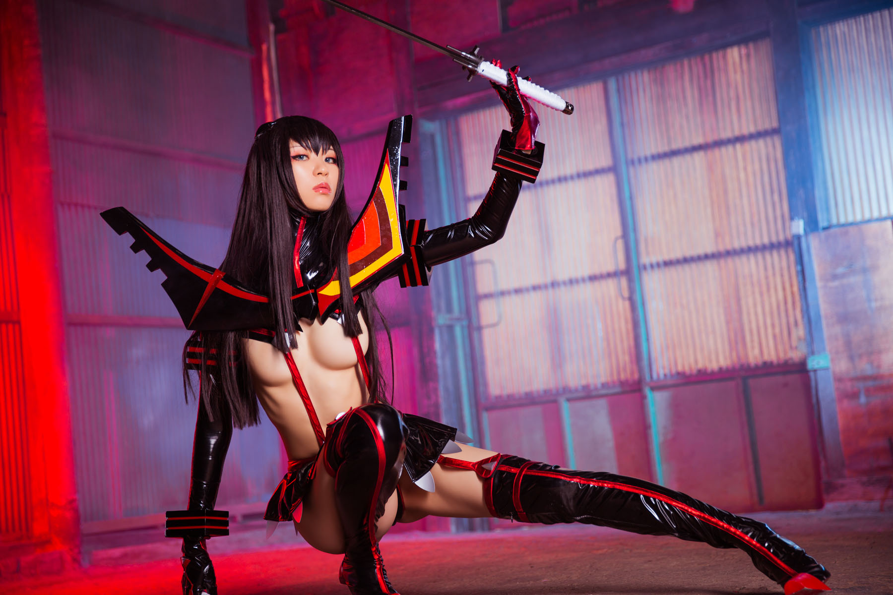 Kill la Kill Satsuki Kiryuuin anime cosplay by Mikehouse 0035