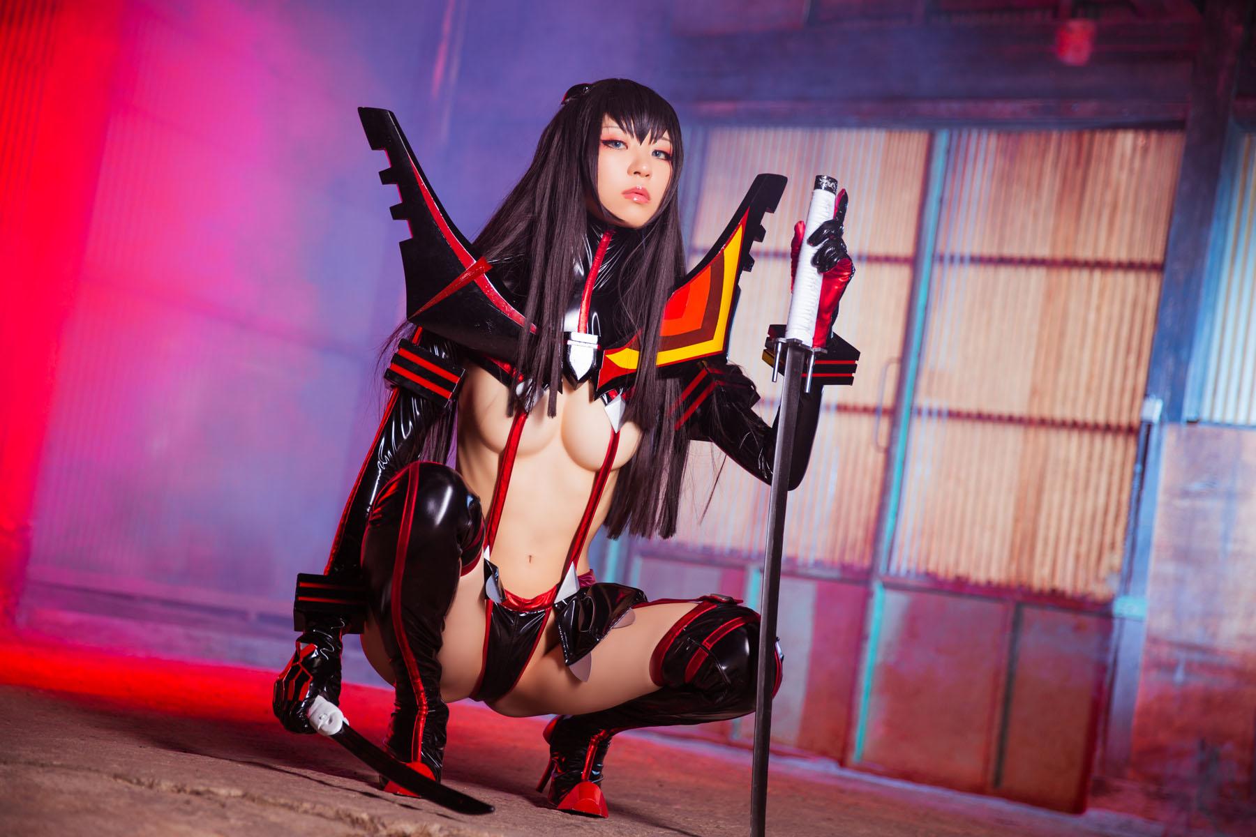 Kill la Kill Satsuki Kiryuuin anime cosplay by Mikehouse 0037