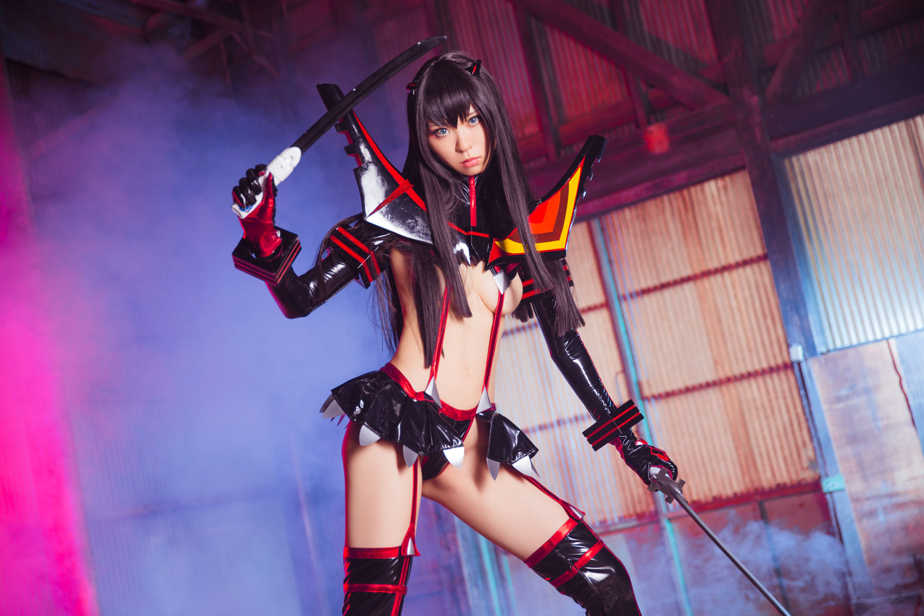 Kill la Kill Satsuki Kiryuuin anime cosplay by Mikehouse 0039