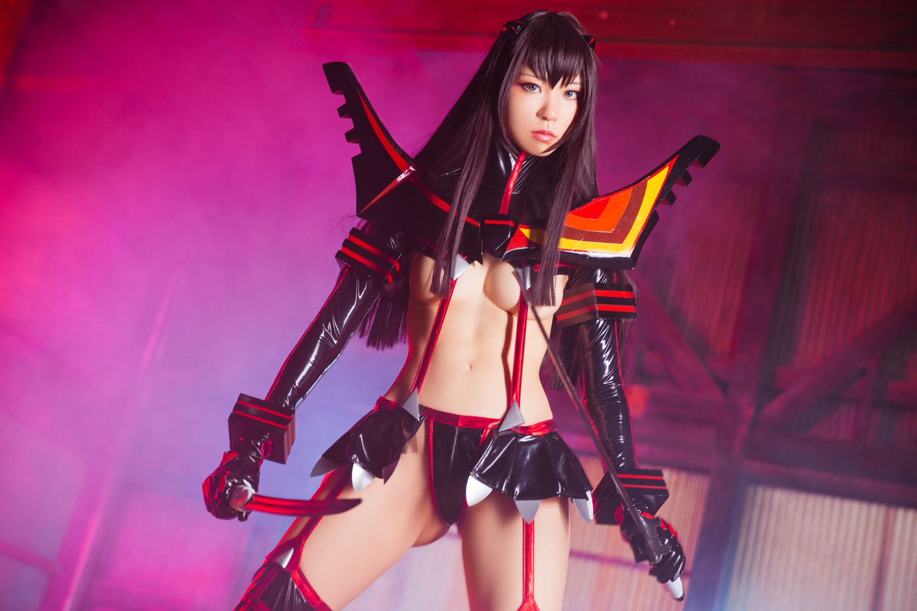 Kill la Kill Satsuki Kiryuuin anime cosplay by Mikehouse 0040