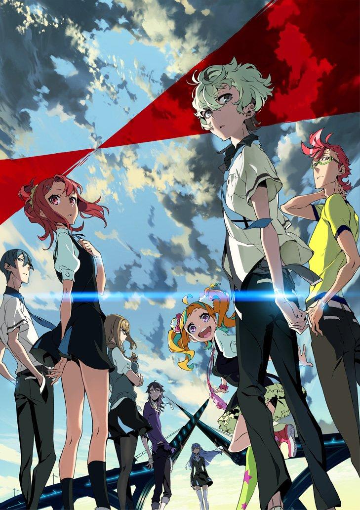 Kiznaiver new tv anime visual