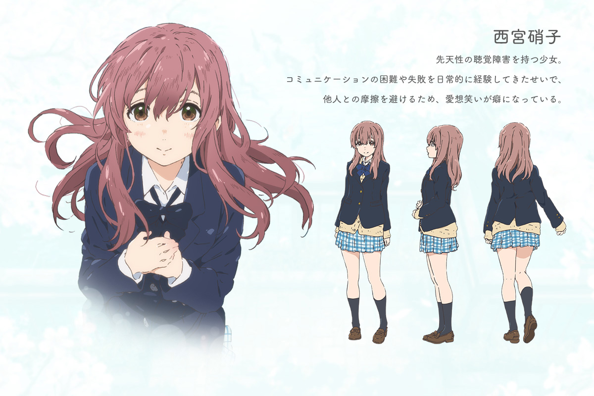 Koe-no-Katachi-Anime-Character-Designs-Shouko-Nishimiya (1)