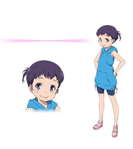 Kuromukuro Anime Character design 10