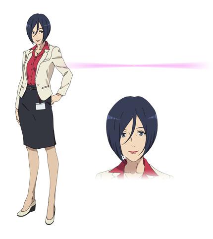 Kuromukuro Anime Character design 11
