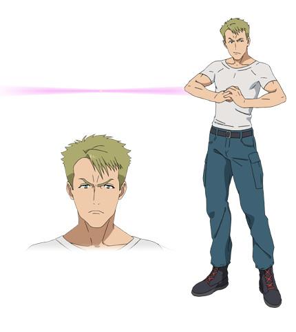 Kuromukuro Anime Character design 12