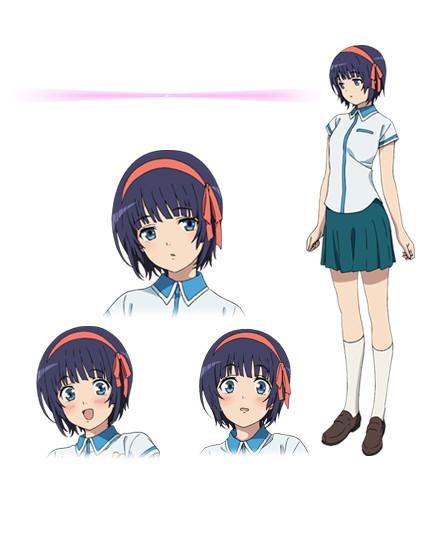 Kuromukuro Anime Character design 2