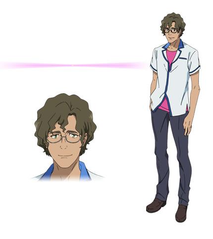 Kuromukuro Anime Character design 8