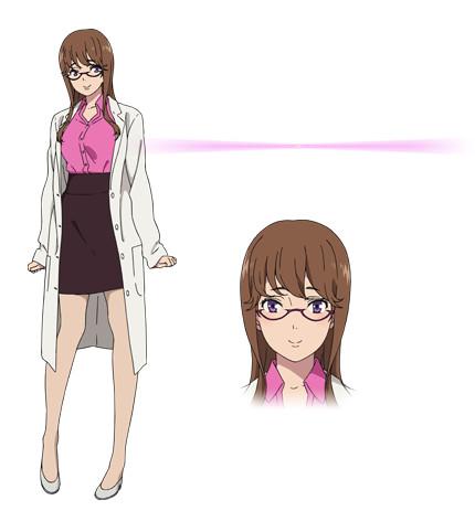 Kuromukuro Anime Character design 9