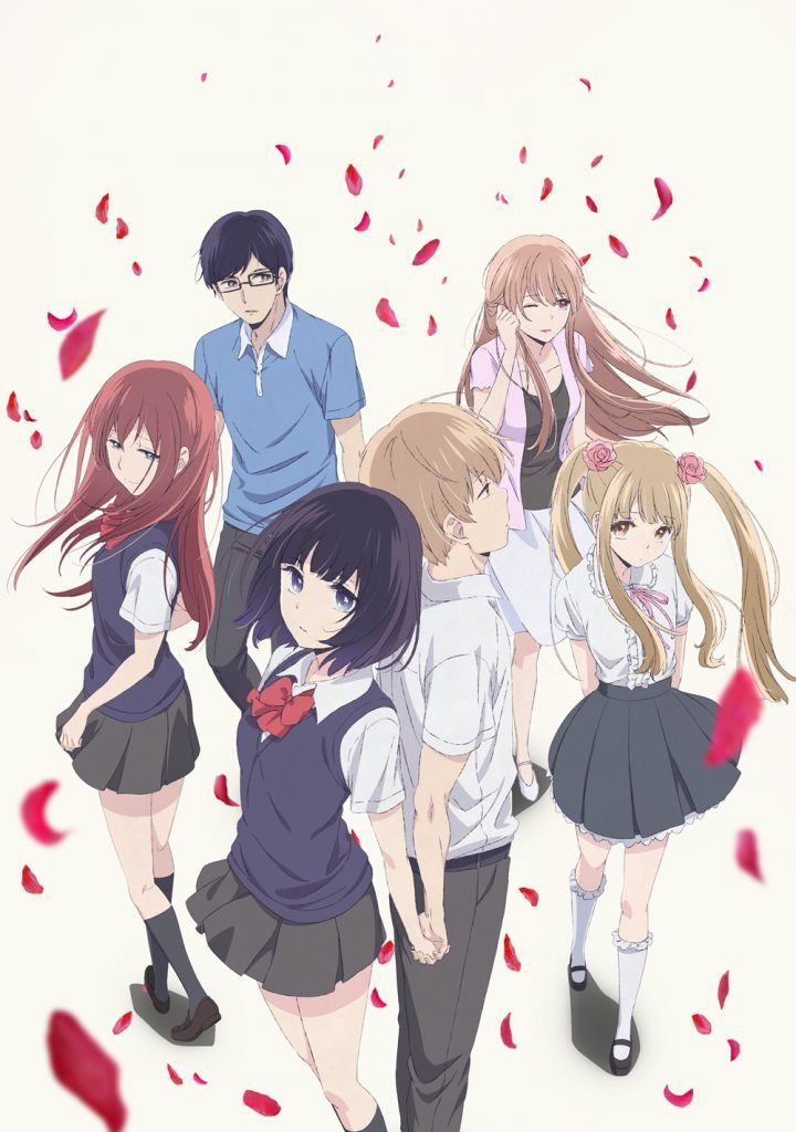 Kuzu no Honkai / Scum's Wish anime promotional poster