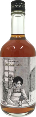 Lawson Offers Attack on Titan and Madoka Magica Liquor haruhichan.com Bande side S Levi Bande side T Erwin Smith drinks