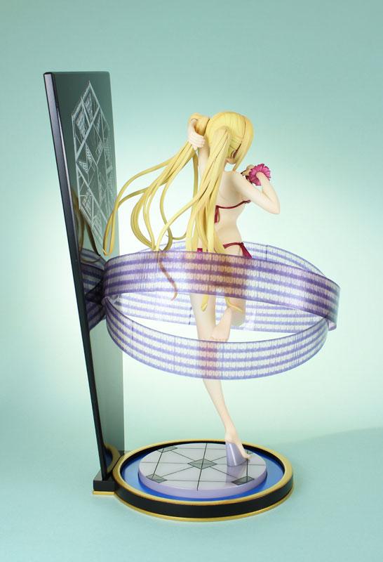 Lieselotte Sherlock Looks Stunning in a Swimsuit haruhichan.com Trinity Seven Lieselotte Sherlock anime figure 02
