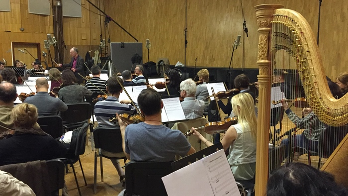 Little Witch Academia 2 BGM recording session 2