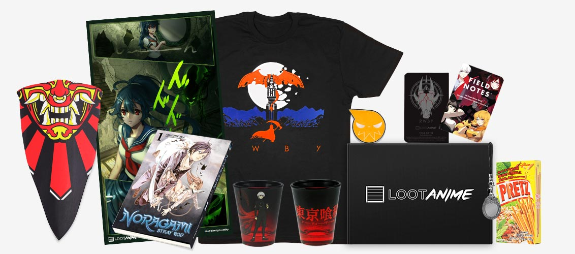 Loot Crate Anime February Haunted Crate Spotlight