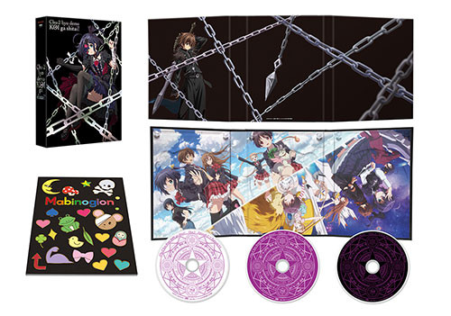Love, Chuunibyou & Other Delusions Blu-Ray Sets Announced 2
