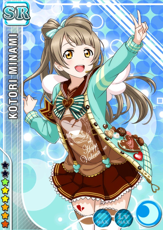 Love Live! Dominates the Top 10 Anime Characters to Get Give Valentine's Day Chocolate Poll haruhichan.com Love Live Kotori Minami 2