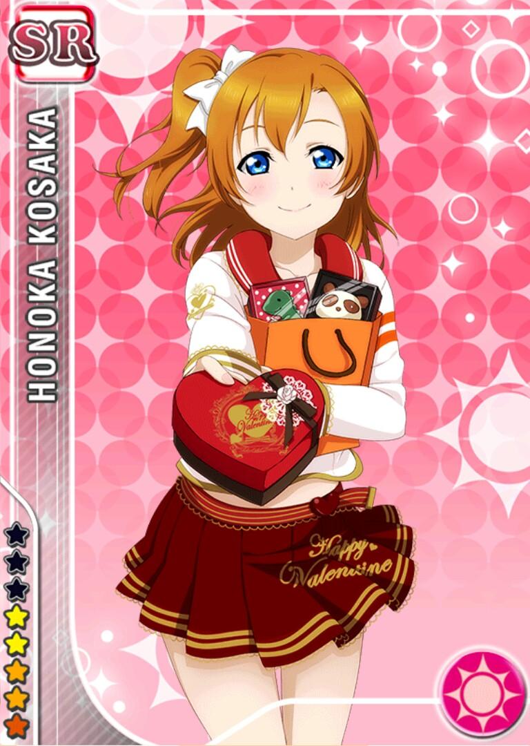 Love Live! Dominates the Top 10 Anime Characters to Get Give Valentine's Day Chocolate Poll haruhichan.com Love Live Kousaka Honoka 2